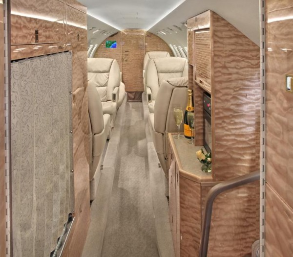 Hawker 1000 Jet Aircraft interiors and exteriors by Randy Smith Photo